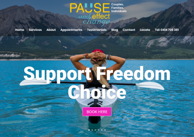 Pause and Effect Change